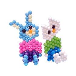 3D Cat and Rabbit