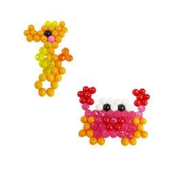 Hippocampe et crabe