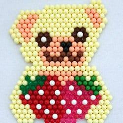 Teddybjørne og jordbær