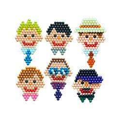 Teckningar av pappor i 3D