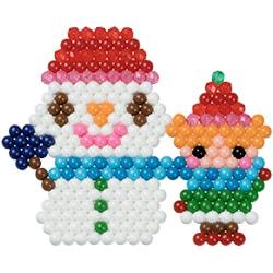 Med snømannen