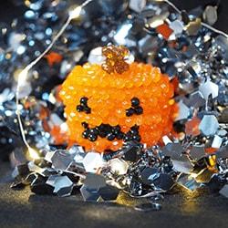 Three-dimensional pumpkin