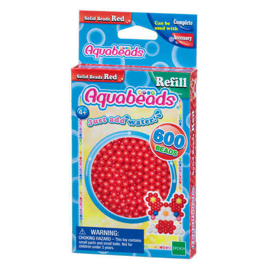 Red  Solid  Bead Pack