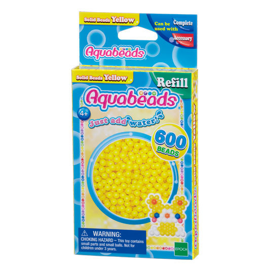 Yellow Solid  Bead Pack