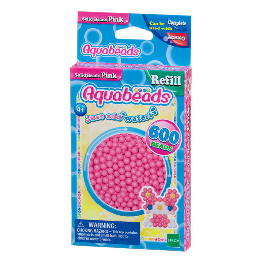 Pink Solid  Bead Pack