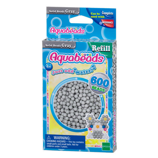 Gray Solid  Bead Pack