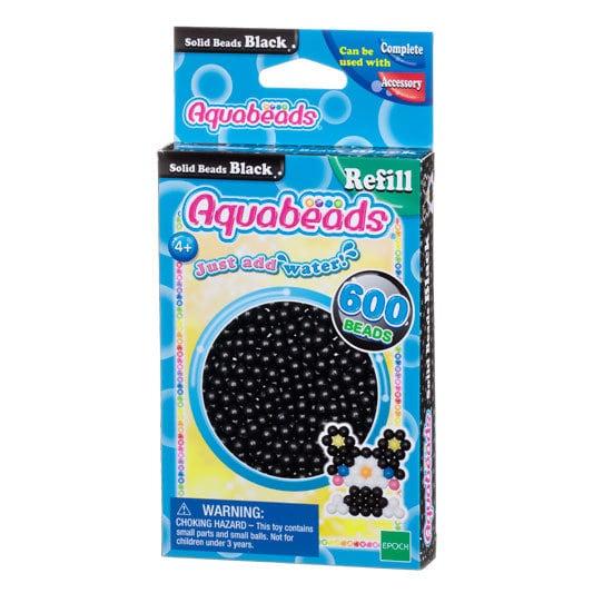 Black Solid  Bead Pack