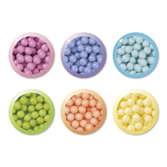 Pastell Perlen