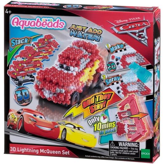 Cars 3 3D Lightning McQueen Set