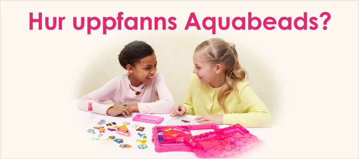 How were Aquabeads invented?